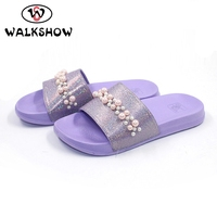 textile upper jersey lining beach sandal from china