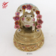 lovely pink pig and garland shape wedding souvenirs china