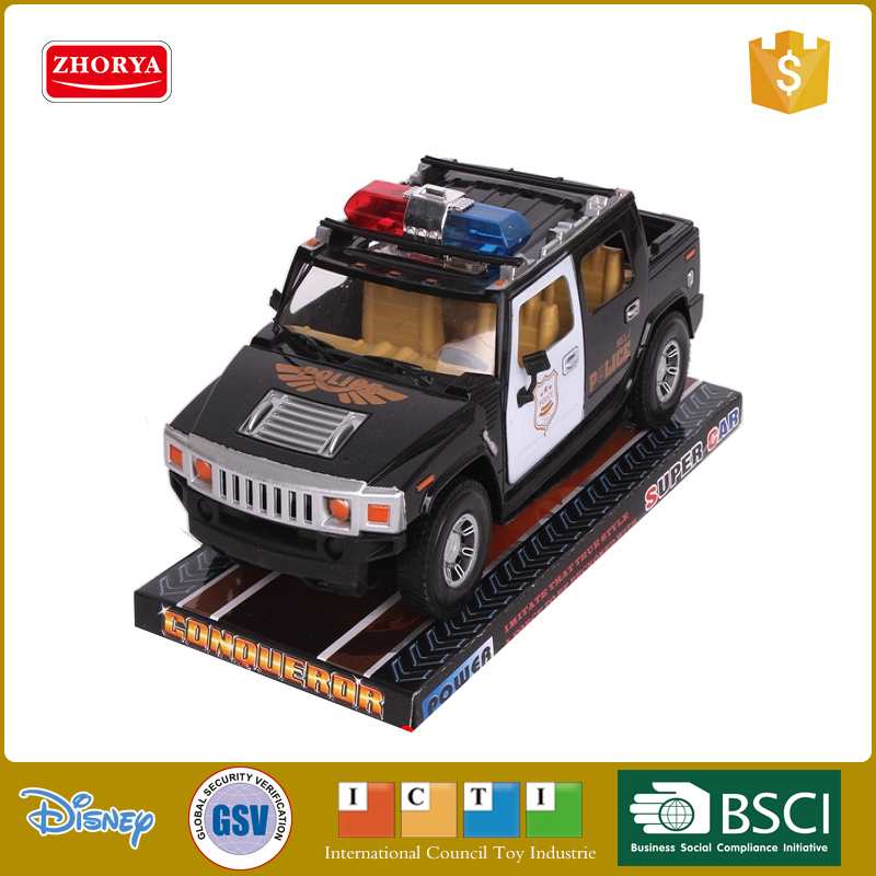 Zhorya plastic friction power toy car for kids