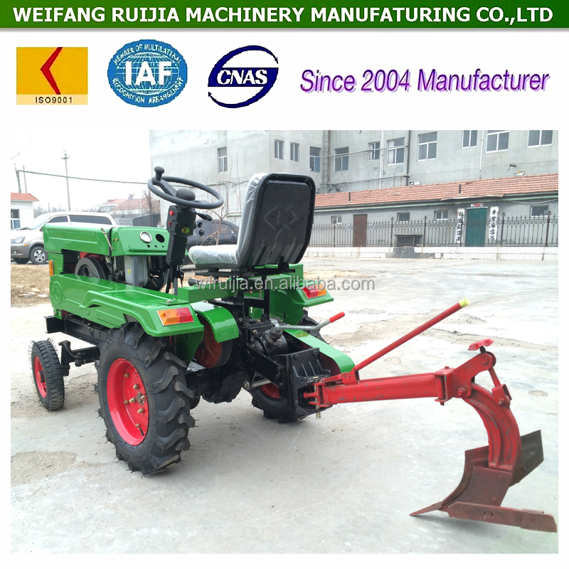 Hot Sale Shandong Tractor Supplier 12hp And 15hp Farm Tractor With ...