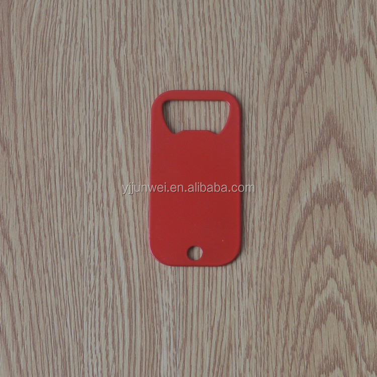 Promotional portable beer bottle opener with custom logo