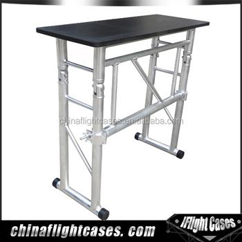 portable dj truss table folding table stand buy folding table