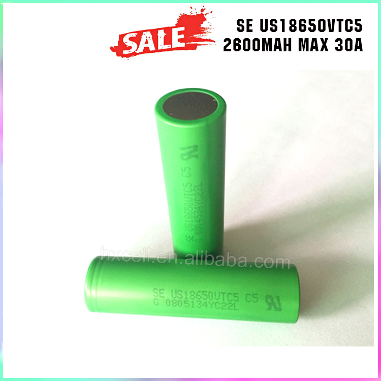 30A High Drain 18650 Battery VTC5 3.7V us18650vt 18650 Li Ion Battery