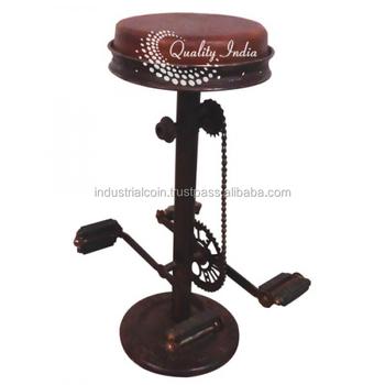 Superb Bike Pedal Bar Stool Furniture Buy Bar Stool Retro Bar Stool Vintage Bar Stools Product On Alibaba Com Evergreenethics Interior Chair Design Evergreenethicsorg