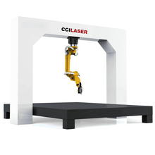 Handel Assurance 1000 w 1500 w 2200 w 3300 w 4000 w IPG Raycus metalen 5 as <span class=keywords><strong>6</strong></span> axis 3d fiber laser snijden robot machine