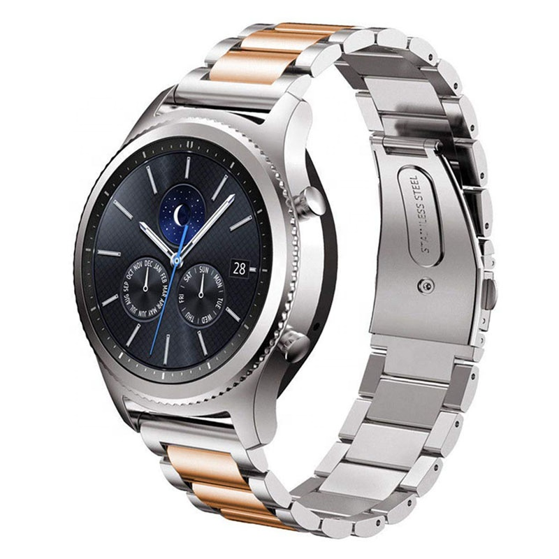 Wholesale popular Stainless Steel Strap Metal Watch Band For samsung galaxy watch 46mm band / Huawei watch