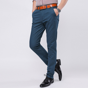 New Style High Quality Custom Men Cotton Chino Pants