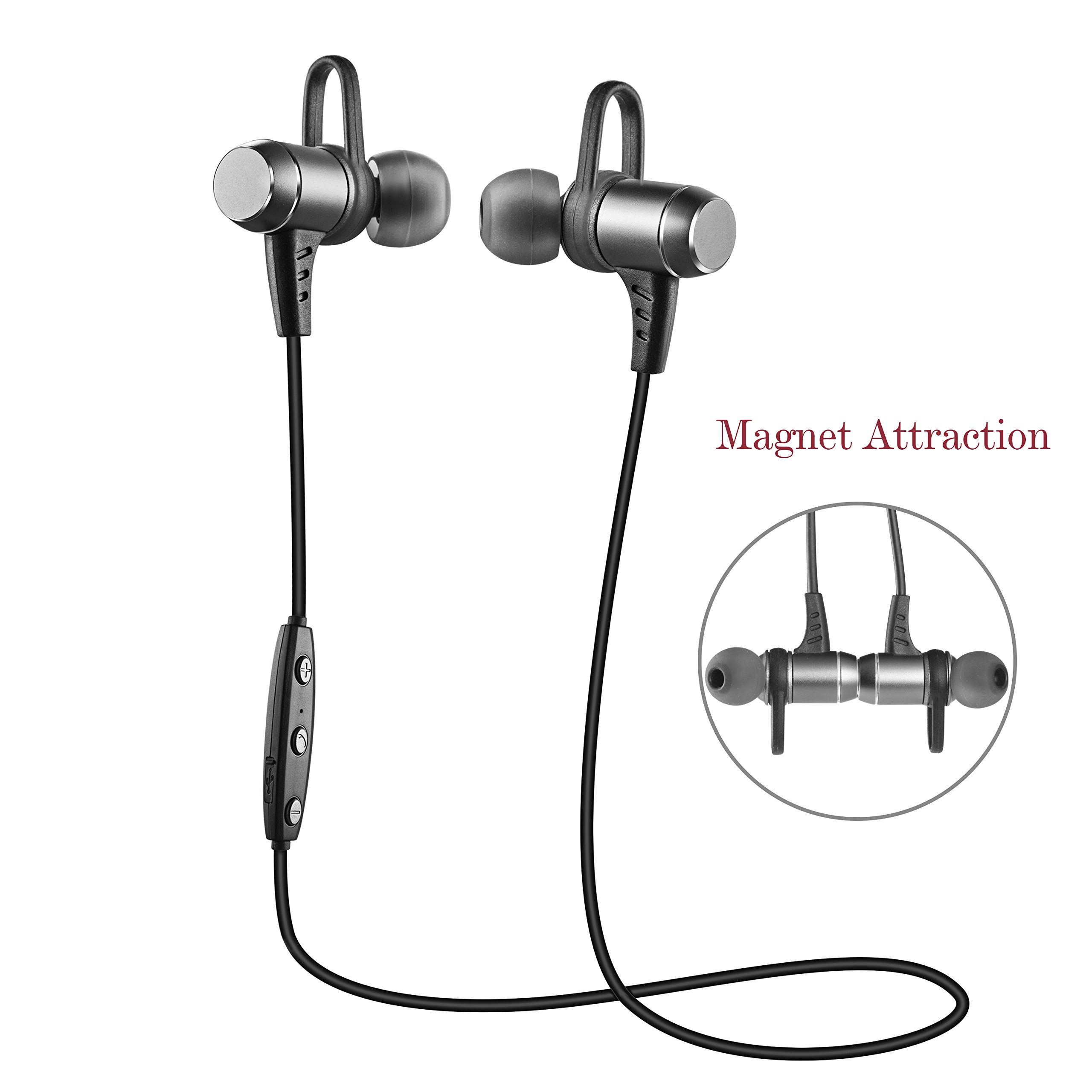 Cheap Bluetooth Workout Find Deals On Line At Headset Magnet Sport Super Bass Fitness Get Quotations Headphoneswireless Earbuds Aumo Magnetic Sweatproof Sports Headphoneslightweight Stereo