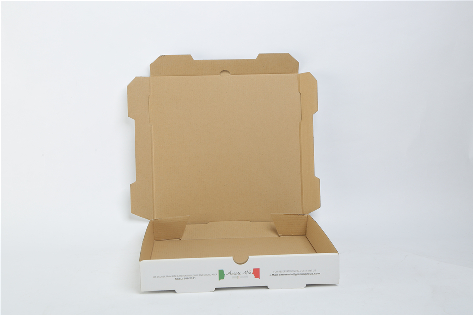 Wholesale High Quality Custom Printed Corrugated Cardboard Recycle Paper Pizza Box Manufacturer with Cheap Price