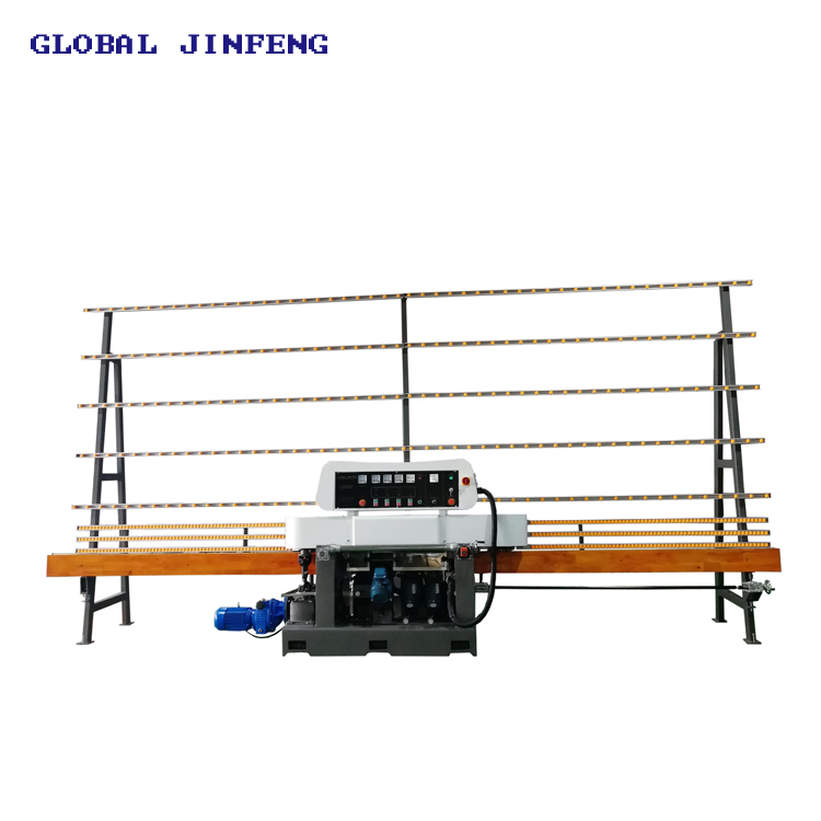 JFE-211 4 engines Small Glass edging polishing machine with CE