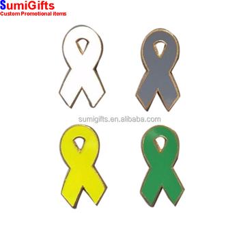 green ribbon awareness pin bulk pack for mental health kidney
