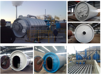 high quality used tire pyrolysis plant with high oil flash point