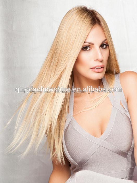 130 Dichte Goldenen Blonde Haare Brasilianischen Ombre Farbe Volle