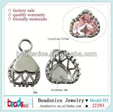 Beadsnice ID 27293 snowflake setting for necklace fashion pendants
