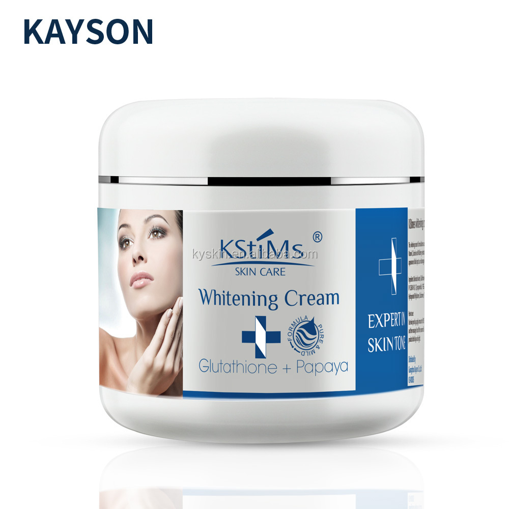 KStimes Korea Papaya Extract Glutathione Black Skin rapid Whitening <strong>body</strong> <strong>Cream</strong>