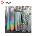 Different pattern PET & BOPP Holographic Metallized and Transparent Lamination Film for paper board