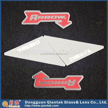 cheap quality branded hanging nameplate in zinc