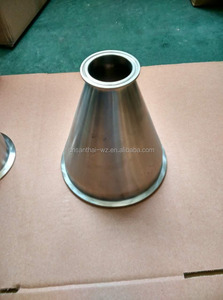 Mirror Polished Sanitary Tri Clamped Concentric Reducer