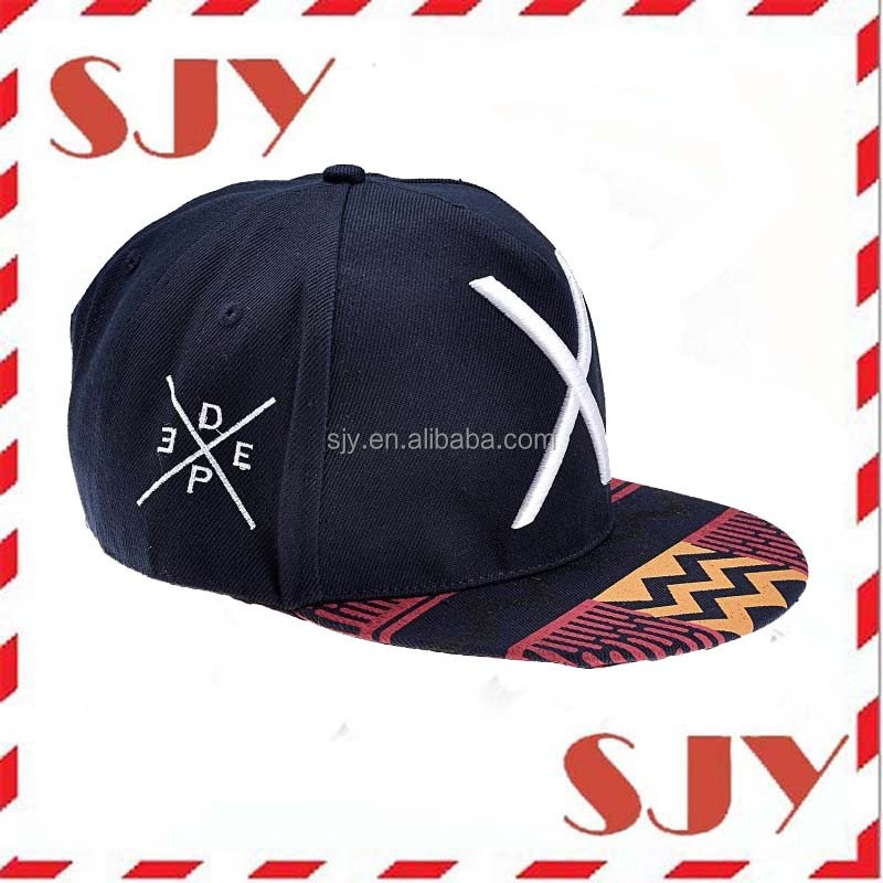 Fashion Hip-hop Hat X Letter Embroidery Baseball Cap