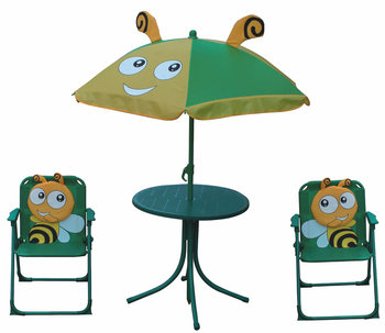 kids portable folding garden furniture sets children table and chairs - Garden Furniture Kids