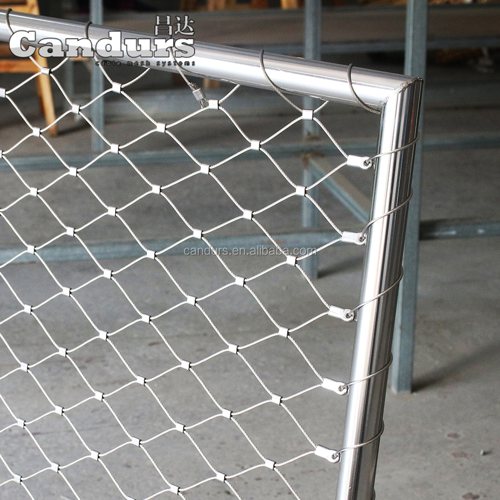 Stainless Steel Wire Rope Mesh Net Wholesale, Stainless Steel ...