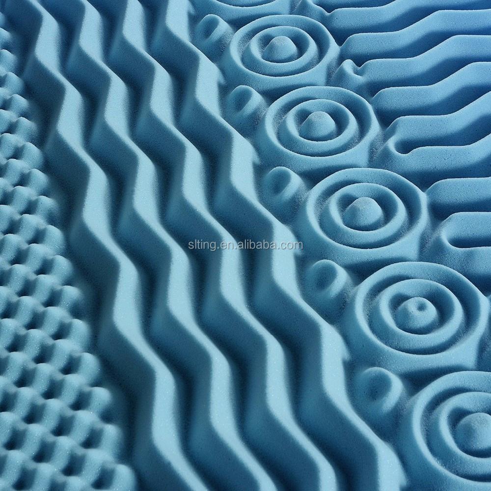 Bamboo Memory Foam Sleepwell Mattress Topper Queen Size