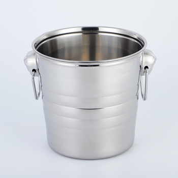large Stainless Steel Champagne Bucket Wine Cooler ice bucket with competitive price