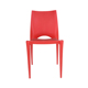 Cheap and fine morden style desgin dining plastic chair