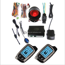 electric shock car alarms /Promotional 2 way car alarm system 430.5MHZ on sale