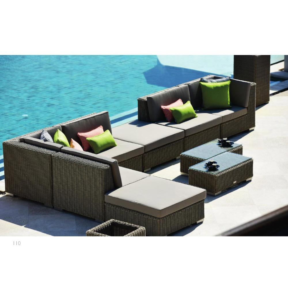 Villa Hotel Rattan Sofa Outdoor Patio Furniture Garden Boston Used