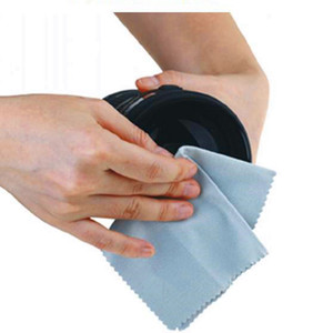 Very convient microfiber cleaning cloth for cleaning plant