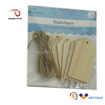 Wood gift tags art minds unfinished wood crafts buy wood for Art minds wood crafts