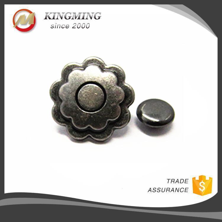 Metal Rosette Rivets For Leather Clothing