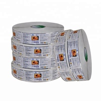 glossy lamination strong adhesive label paper