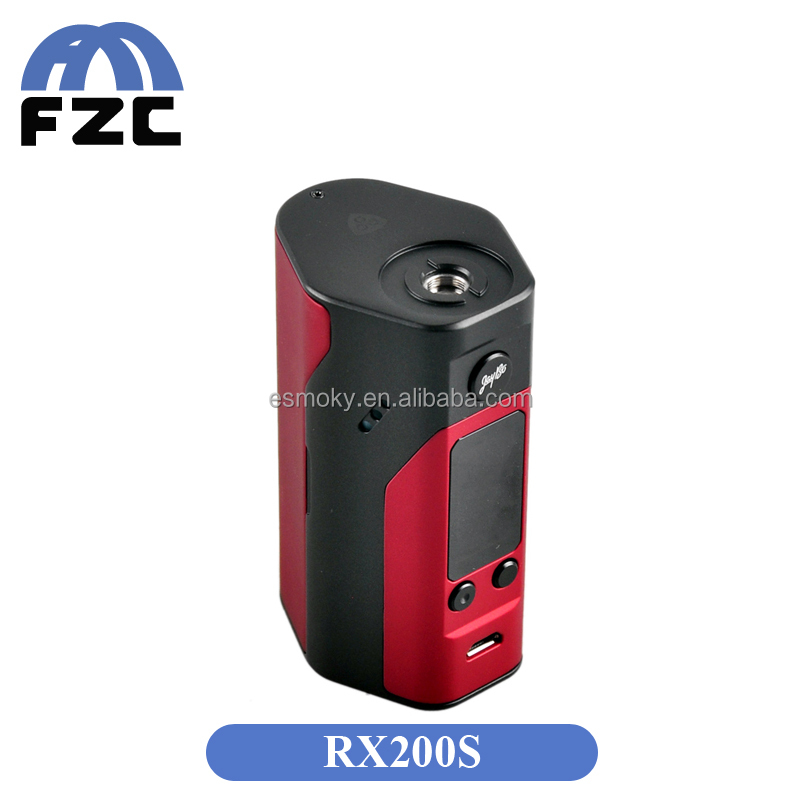 China Supplier Manufacturer Price TOP Rated 200w TC Box Mod Wismec Reuleaux RX200S Reverse Polarity Protection Wismec RX200S