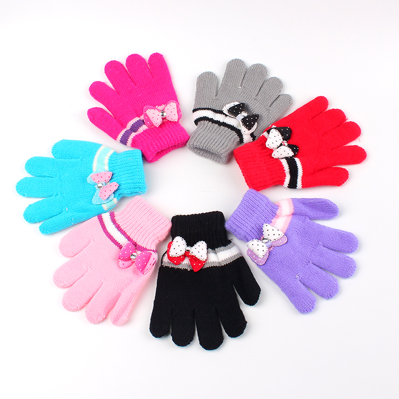 New Children Gloves Autumn Winter Kids Gloves Hot Cotton ...