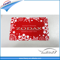 Festival gift greeting card and tag from factory