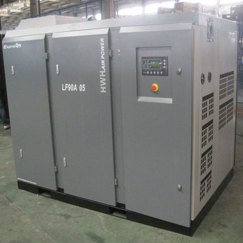 Saving Direct Drive Krachtige 22kw Gecombineerd Gas Schroef 5bar 3bar China Leverancier Hoge Volume Lage Druk Stationaire Luchtcompressor