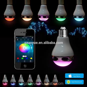 High Sale Led Melody 10w Music Audio Speaker Bulb Led Light ...