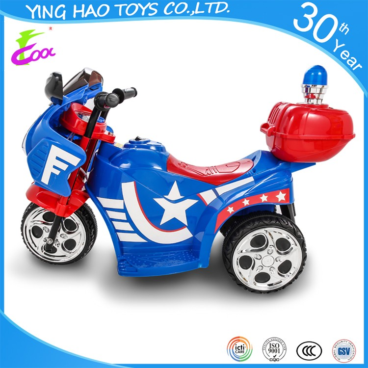 Police ride on police car children 19-36 months motorbike YH-99071