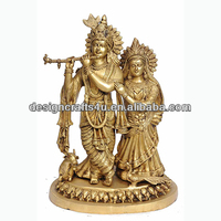 Polyresin Marble&Radha Krishna Statue in Religious Crafts