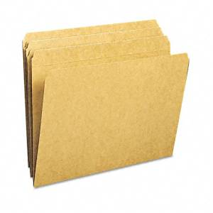 Smead : Kraft File Folders, Straight Cut, Reinforced Top Tab, Letter, Brown, 100/Box -:- Sold as 2 Packs of - 1 - / - Total of 2 Each