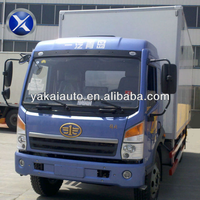 Heavy duty truck, insulated van, insulated truck box