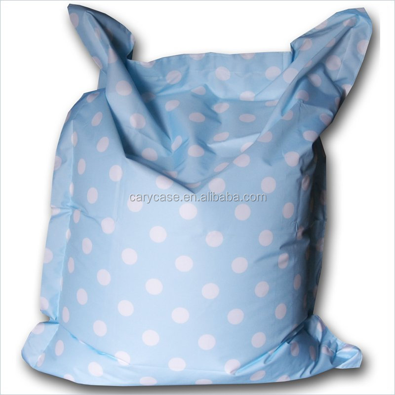 POLKA DOTS in blue and pink PRINTED bean bag chair wholesaler