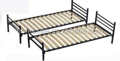 Dise o italiano cama litera de metal marco doble decker for Camas plegables diseno italiano