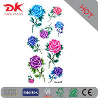 Unique design Rose tattoo sticker, Love Tattoo stickers, Valentine tattoos