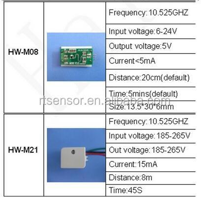 5 24v 10m sensor distance single board microwave sensor photocell sensor wiring diagram