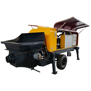 Electric portable concrete pump for large aggregate material below 50mm