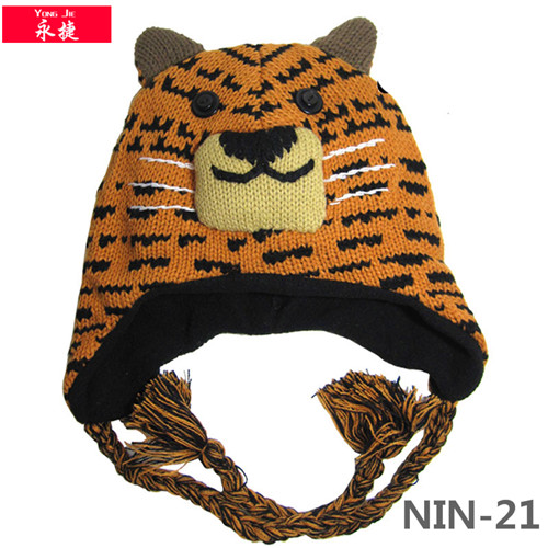 Free Knitting Patterns For Adult Animal Hats Free Knitting Patterns