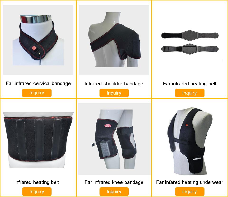 15 Jahre Fabrik Innovative wasserdichte USB-elektrische Infrarot-Graphen-Heizkissen für Jacke